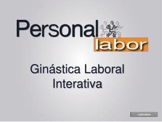 Gin�stica Laboral Interativa