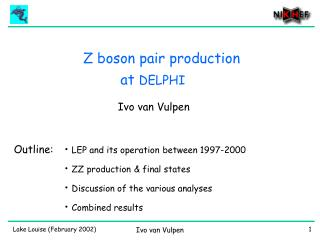 Z boson pair production