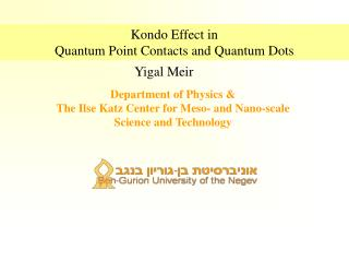 Kondo Effect in Quantum Point Contacts and Quantum Dots