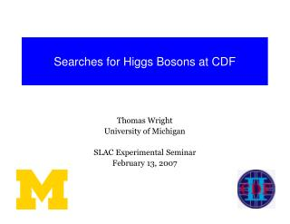Searches for Higgs Bosons at CDF