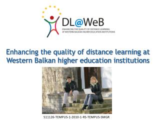 Enhancing the quality of distance learning at Western Balkan higher education institutions