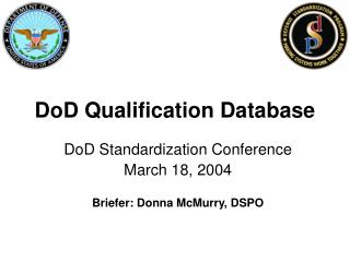 DoD Qualification Database