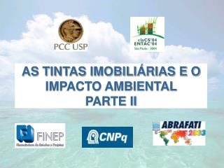 AS TINTAS IMOBILIÁRIAS E O IMPACTO AMBIENTAL  PARTE II