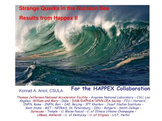 Strange Quarks in the Nucleon Sea  Results from Happex II