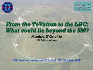 From the  TeVatron  to the LHC: What could lie beyond the SM?