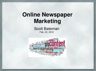 Online Newspaper Marketing