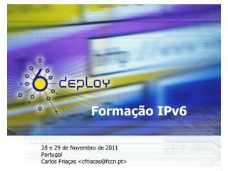 Formação IPv6