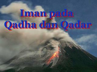 Iman pada Qadha dan Qadar
