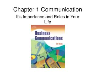 Chapter 1 Communication