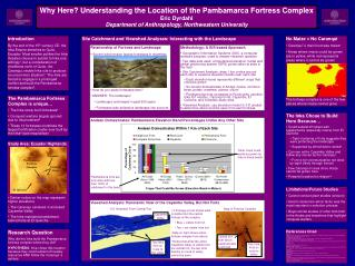 Site Catchment and Viewshed Analyses: Interacting with the Landscape