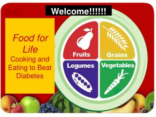 Food for Life Cooking and Eating to Beat Diabetes