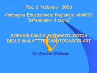 Dr Enrico Cabani