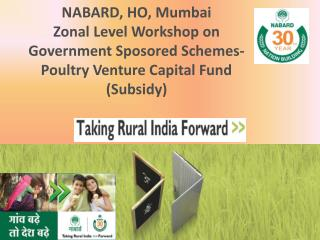 NABARD, HO, Mumbai Zonal  Level Workshop on