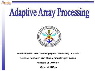 Adaptive Array Processing