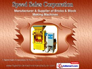 Semi automatic Fly Ash Bricks Machine Manufacturer