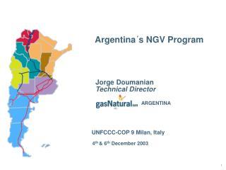 Argentina´s NGV Program