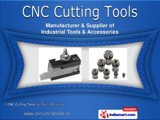 Tool Holders  &  Carbide Endmills