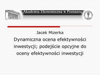 Jacek Mizerka