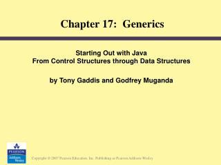 Chapter 17:  Generics