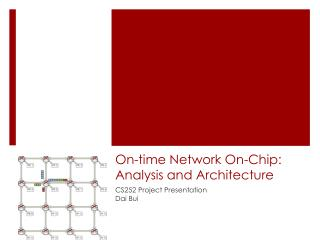 On-time Network On-Chip: Analysis and Architecture