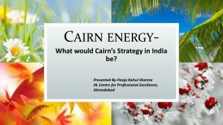 Cairn energy-