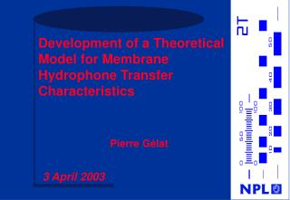 Development of a Theoretical Model for Membrane Hydrophone Transfer Characteristics