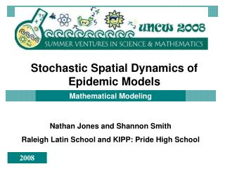 Stochastic Spatial Dynamics of  Epidemic Models