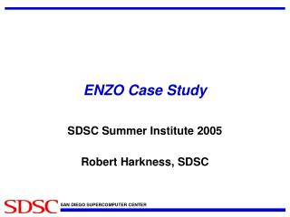 ENZO Case Study