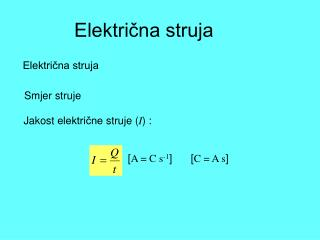 Električna struja