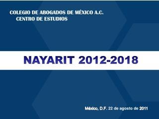 México, D.F . 22 de agosto de  2011