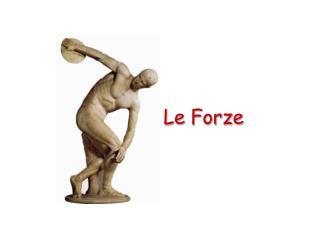 Le Forze
