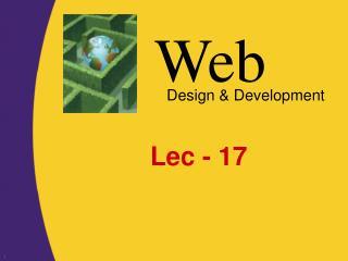 Lec - 17