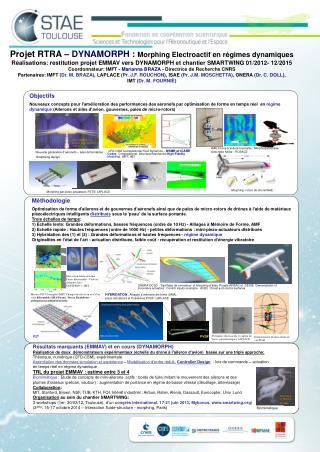 ISAE-Drone à voilure tournante:: Morphing poussée vectorielle hélice - ROSACE