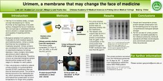 Urimem, a membrane that may change the face of medicine