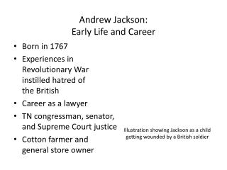 Andrew Jackson:  Early Life and Career