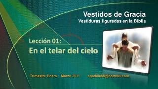Trimestre Enero – Marzo 2011         apadilla88@hotmail