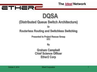 DQSA (Distributed Queue Switch Architecture) Or Routerless Routing and Switchless Switching