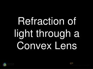 Refraction of light through a Convex Lens