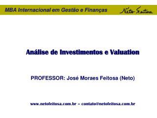 MBA  Internacional em Gestão  e  Finanças