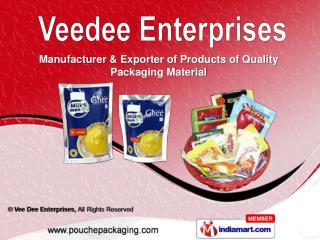 Grocery Packaging   & Frozen / Sea Food Packaging Material