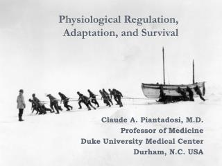 Physiological Regulation, Adaptation, and Survival