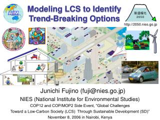 Modeling LCS to Identify  Trend-Breaking Options