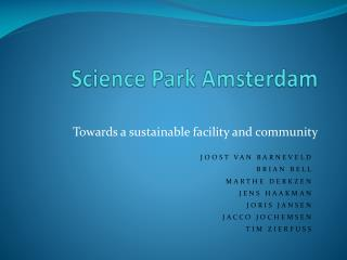 Science Park Amsterdam