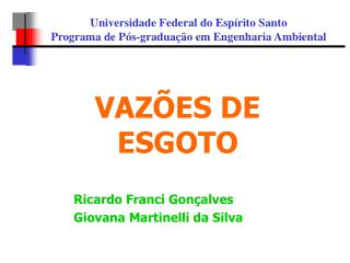 Ricardo Franci Gonçalves Giovana Martinelli da Silva