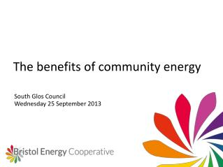 The benefits of community energy