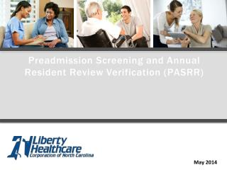 Preadmission Screening and Annual Resident Review Verification (PASRR)