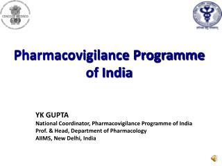 Pharmacovigilance Programme  of India