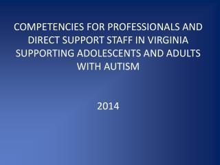 Est. December, 2001 autismtrainingva