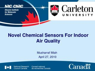 Novel Chemical Sensors For Indoor Air Quality