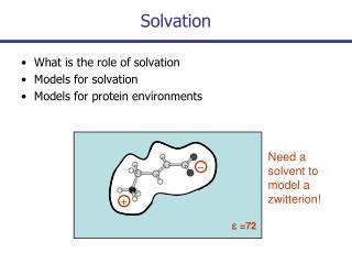 Solvation